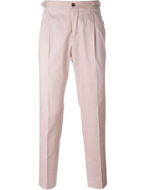 Dolce & Gabbana | Мужские Розовые Чиносы С Вытачками
