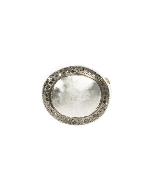 ROSA MARIA | Женское Серый Diamond Circle Ring