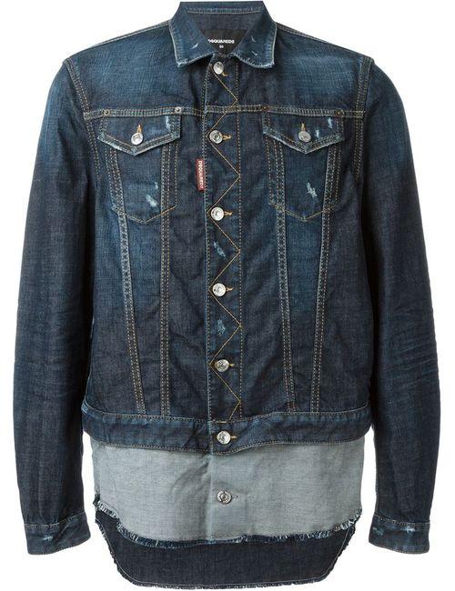 Dsquared2 | Мужская Синяя Джинсовая Куртка