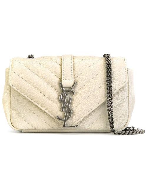 Saint Laurent | Женское Белый Baby Monogram Shoulder Bag