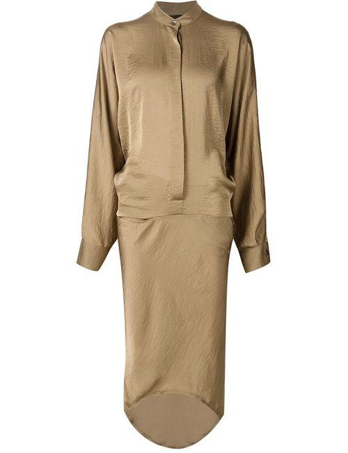 Haider Ackermann | Женское Nude & Neutrals Платье С Воротником-Стойкой