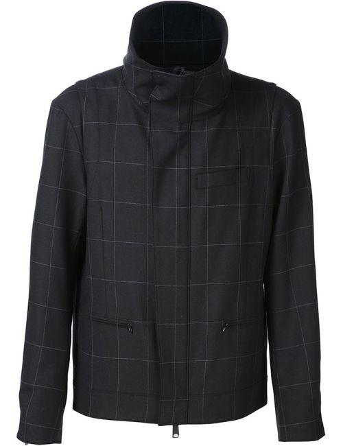 PUBLIC SCHOOL | Мужская Чёрная Куртка С Сетчатым Узором