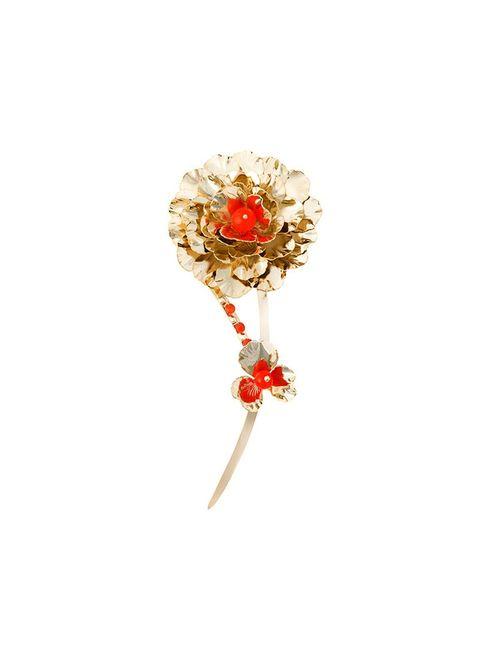 Rosantica | Женское Серебристый Flower Brooch