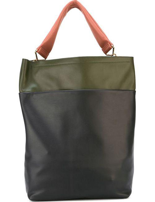 Marni | Женская Зелёная Сумка-Тоут Strap Bag Maxi Handle
