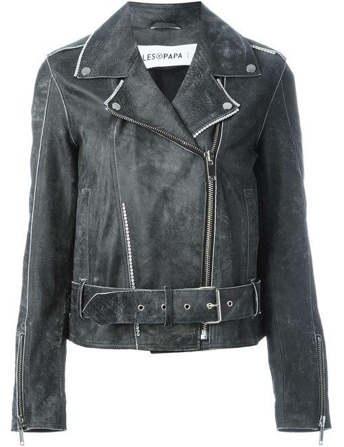 Filles A Papa   Женское Черный Suki Biker Jacket