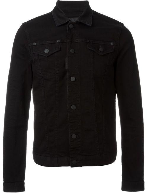 Dsquared2 | Мужская Чёрная Джинсовая Куртка