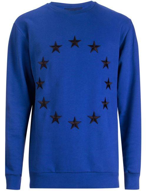 ÉTUDES STUDIO | Мужское Синий Etoile Embroidered Sweatshirt