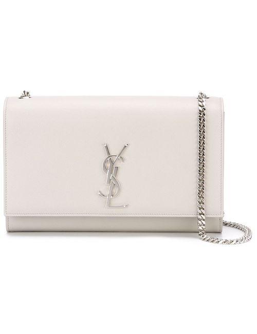Saint Laurent   Женское Серый Monogram Crossbody Bag