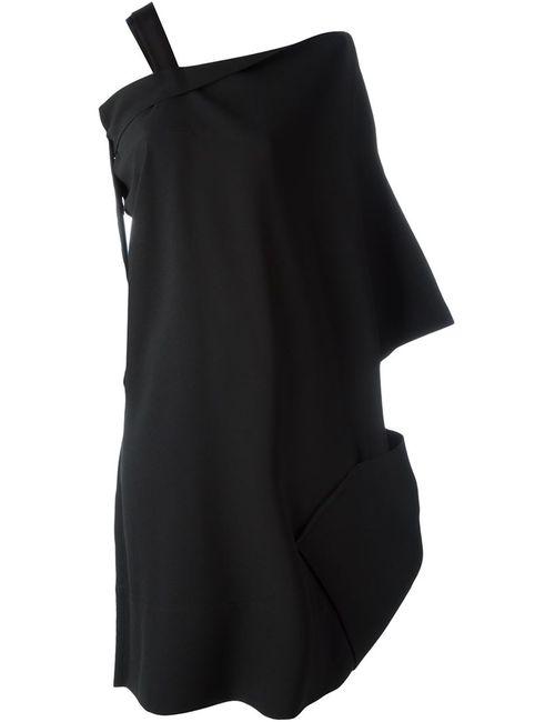 Issey Miyake | Женское Чёрное Платье С Лямкой