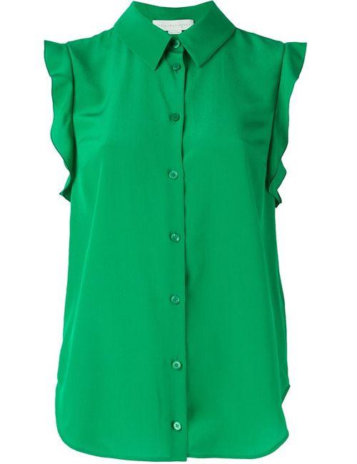 Stella Mccartney | Женская Зелёная Рубашка Без Рукавов