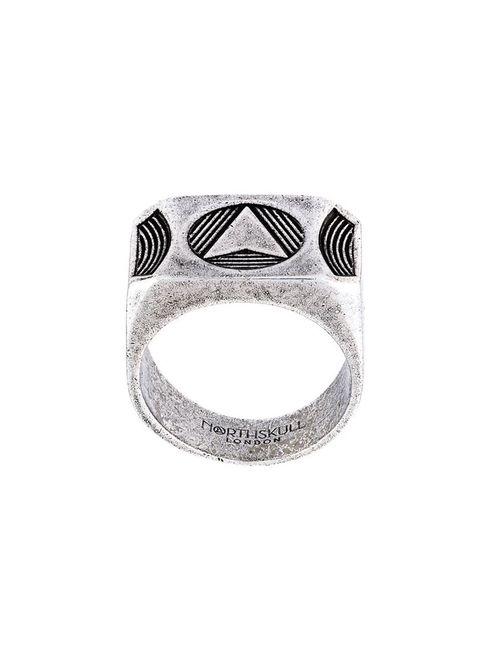 Northskull | Мужское Серебристый Kinetic Ring