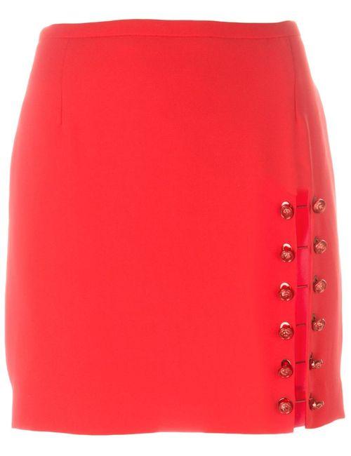 Versus   Женское Красный Pinned Slit Short Skirt
