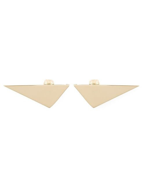 Sylvio Giardina | Женское Серебристый Triangle Clip-On Earrings