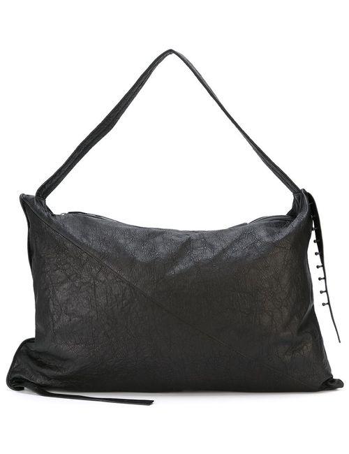 Isabel Benenato   Женское Черный Oversized Shoulder Bag