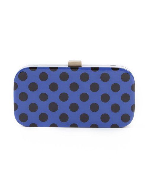 SERPUI | Женское Синий Polka Dot Shoulder Clutch