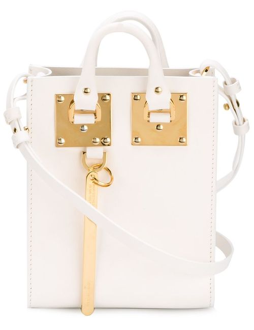 Sophie Hulme | Женское Белый Albion Cross Body Bag