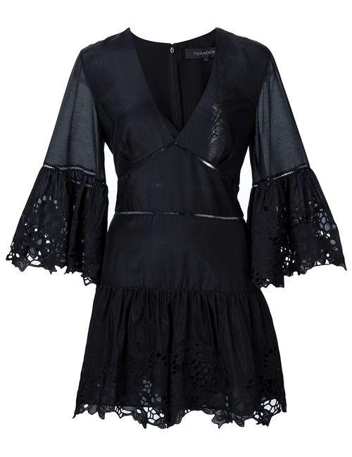 Thakoon | Женское Черный Embroidered Playsuit