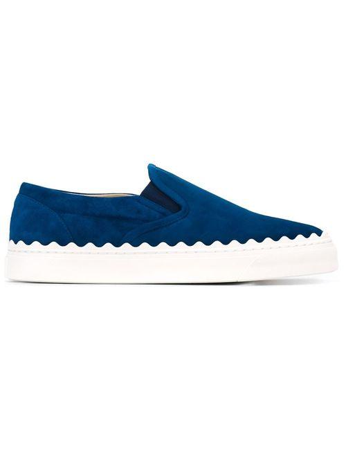 Chloe   Женское Синий Ivy Slip-On Sneakers