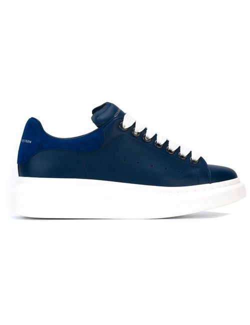 Alexander McQueen | Женское Синий Larry Extended Sole Sneakers