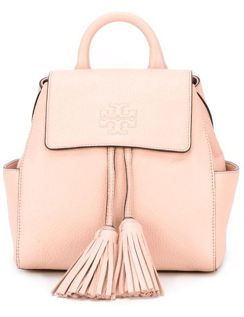 Tory Burch | Женское Розовый Tassel Detail Backpack