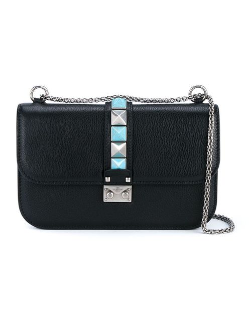 Valentino Garavani | Женское Черный Glam Lock Rolling Shoulder Bag