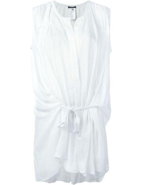 Ann Demeulemeester | Женская Белая Блузка Без Рукавов