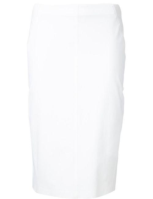 Brunello Cucinelli | Женское Белый Pencil Skirt