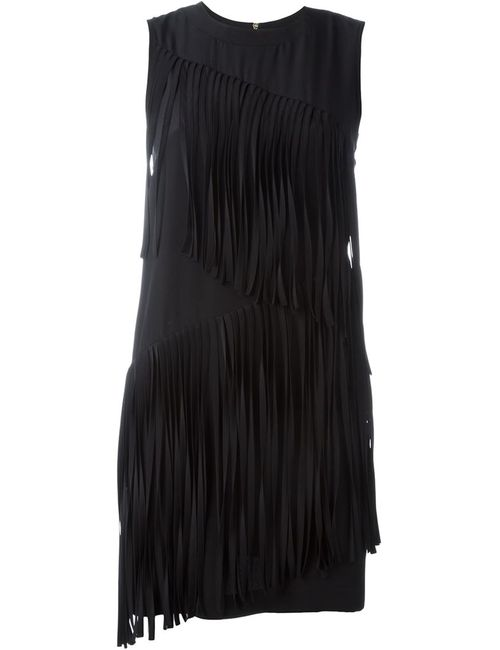 Marco Bologna | Женское Чёрный Sleeveless Fringed Dress