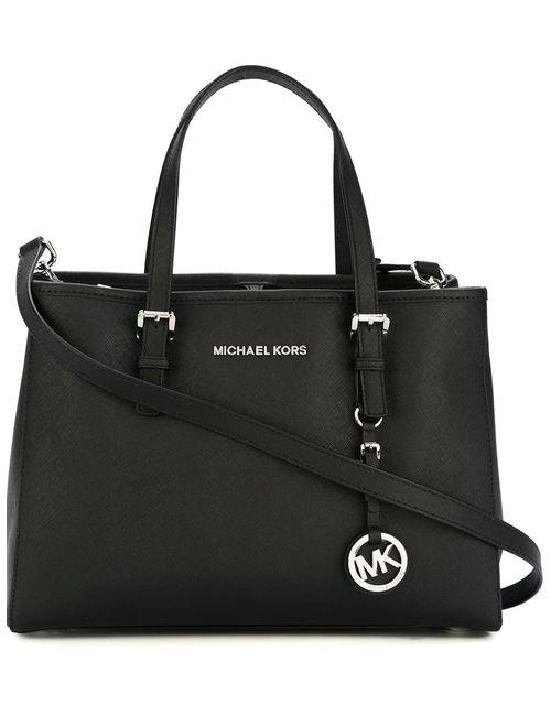 Michael Kors | Женское Чёрный Top-Zip Tote Bag