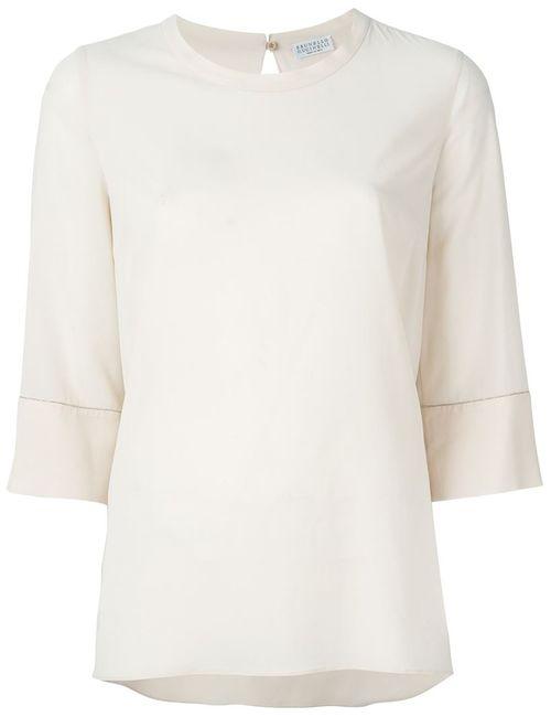 Brunello Cucinelli | Женская Декорированная Блузка