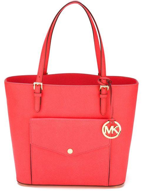 Michael Michael Kors | Женская Розовая Сумка-Тоут С Логотипом