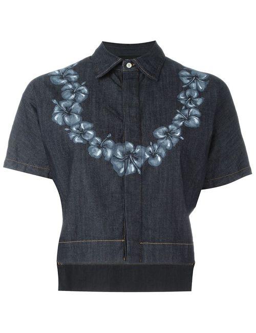 Dsquared2 | Женское Синий Cropped Denim Shirt