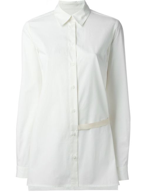 MM6 by Maison Margiela | Женское Nude & Neutrals Strap Detail Shirt