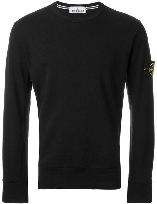 Stone Island | Мужское Чёрный Crew Neck Sweatshirt