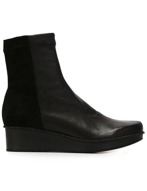 Robert Clergerie | Женские Чёрные Ботинки Noa