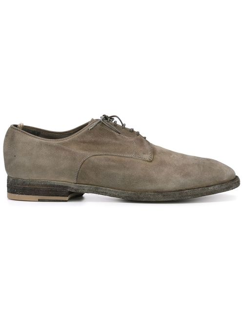 Officine Creative | Мужское Серый Distressed Derby Shoes