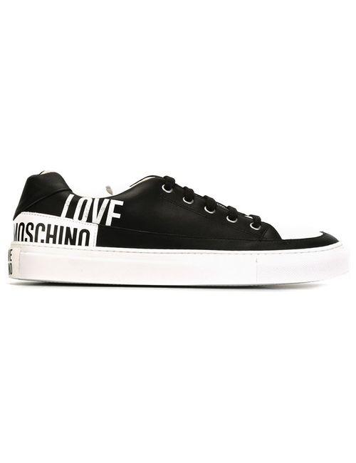 Love Moschino | Мужские Чёрные Кроссовки С Логотипом