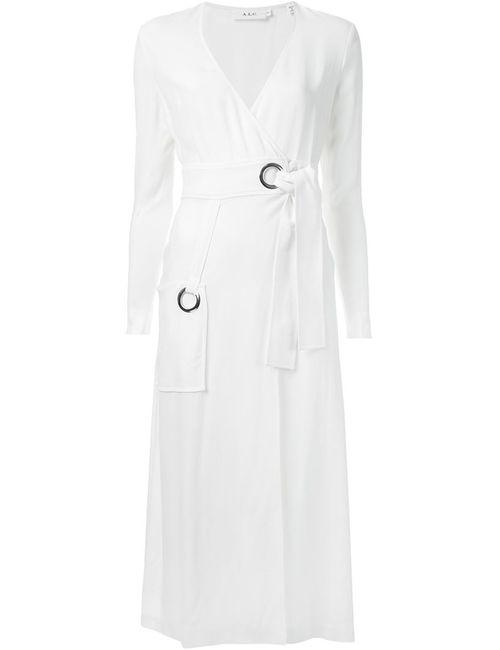 A.L.C. | Женское Белое Платье С Запахом