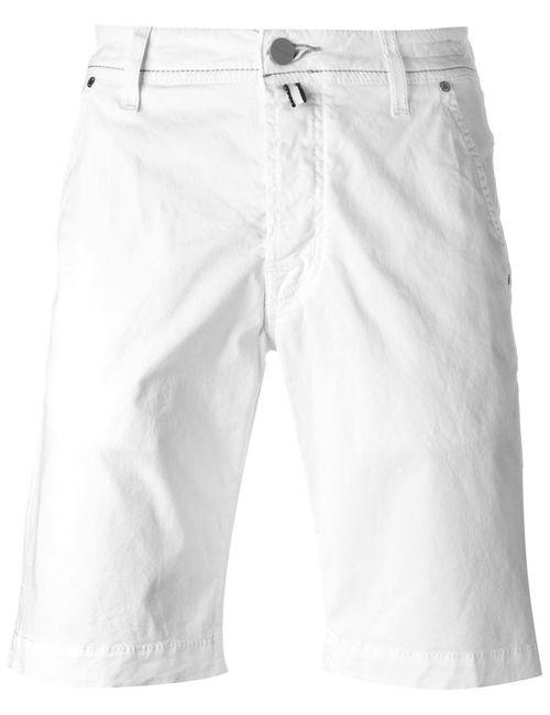 Jacob Cohёn | Мужское Белый Bermuda Shorts
