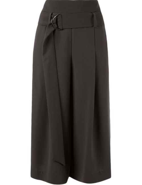 GIULIANA ROMANNO | Женское Серый Cropped Wide Trousers