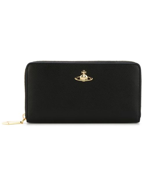 Vivienne Westwood | Женское Чёрный Zip-Around Wallet