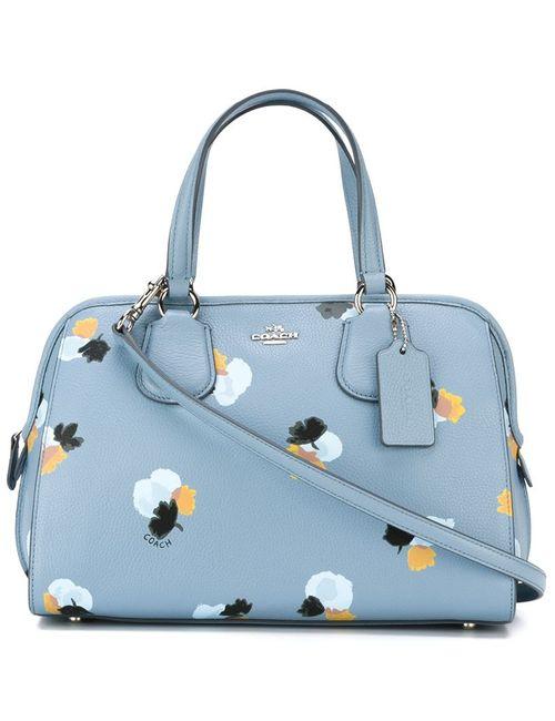 COACH | Женское Синий Print Tote Bag