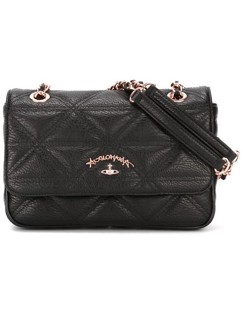Vivienne Westwood | Женское Чёрный Sharlenemania Chain Strap Flap Bag