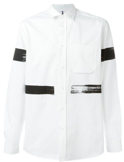 OAMC | Мужское Белый Brushstroke Print Shirt