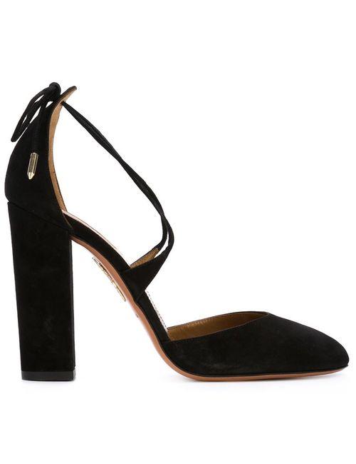 Aquazzura | Женские Чёрные Туфли Karlie