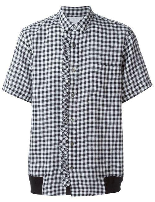 Sacai | Мужское Чёрный Gingham Shirt