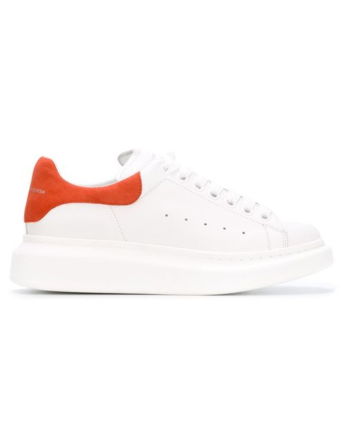 Alexander McQueen | Женское Белый Larry Extended Sole Sneakers