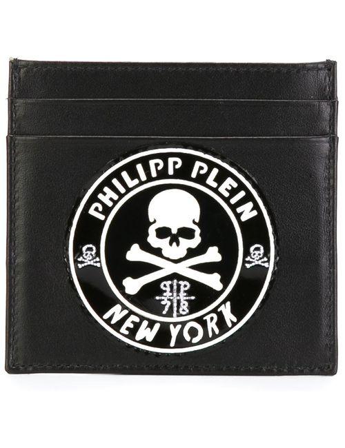 Philipp Plein   Мужское Чёрный Welcome To The Zoo Card Holder