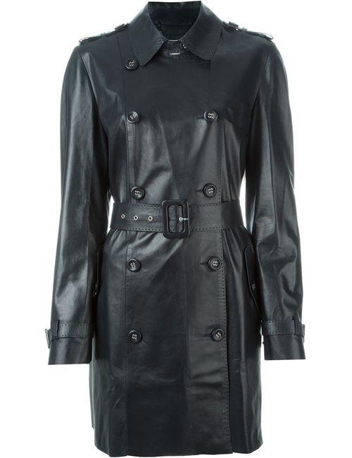 DESA   Женское Черный Пальто С Поясом