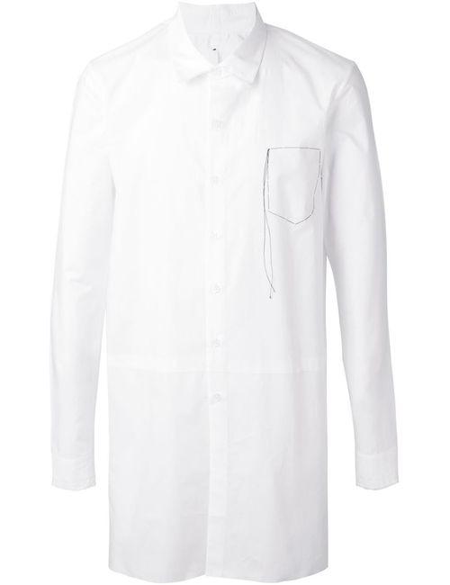 Damir Doma | Мужская Белая Классическая Рубашка